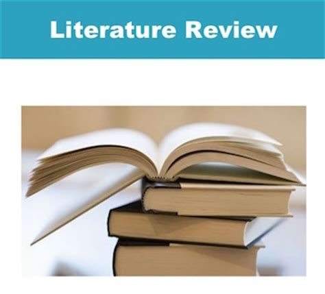 Methodological issues in literature review